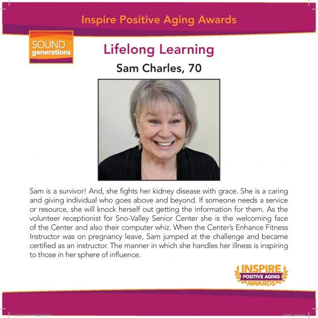 Lifelong Learning Nominee