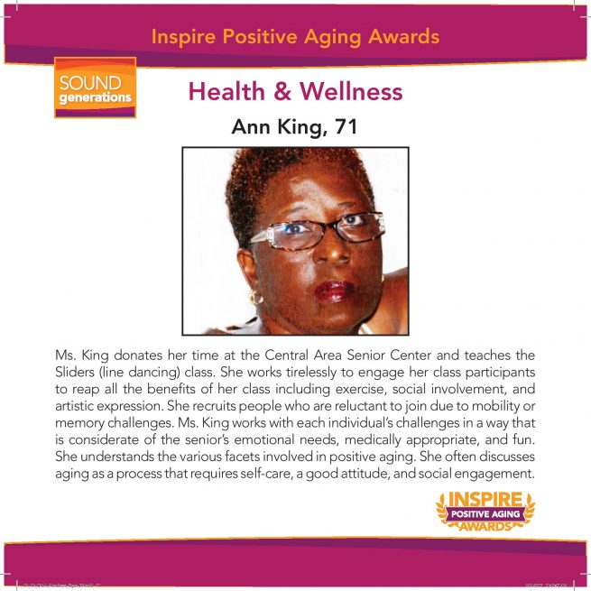 Health and Wellness Nominee