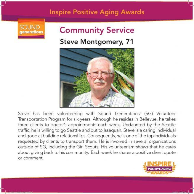 communtiy service nominee