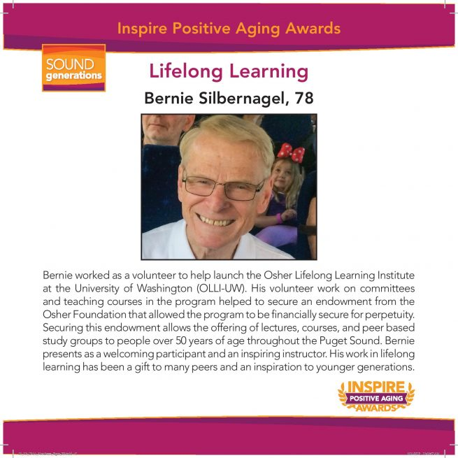 lifelong learning nominee