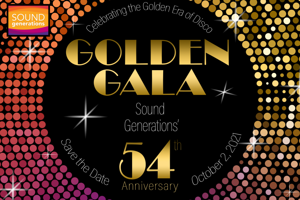 Join Sound Generations for the 54th Annual Golden Gala