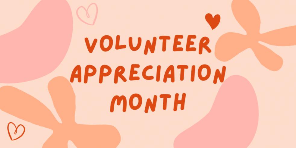 Volunteer Appreciation Month Graphic