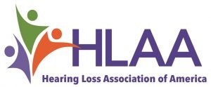 hearing loss association of america logo hlaa