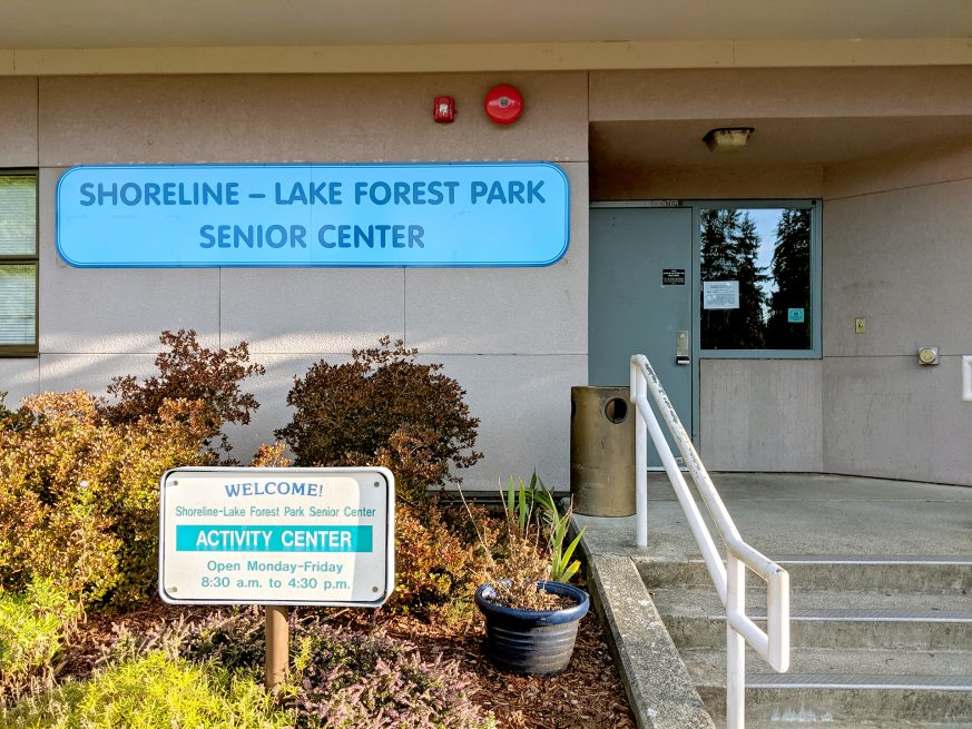 Shoreline Lake Forest Park Senior Center exterior