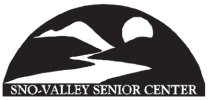 sno valley senior center logo